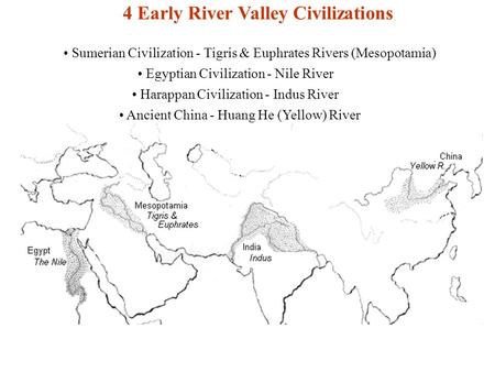 First River Valley Civilizations Ppt Video Online Download