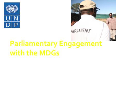 Click to edit Master subtitle style 7/1/11 Parliamentary Engagement with the MDGs Presentation to the South Africa Parliament Women's Caucus June 2011.