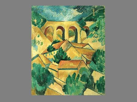 Cubism originated in the work of Pablo Picasso and George Braque in Paris late in the first decade of the 20th century. Picasso and Braque were prompted.