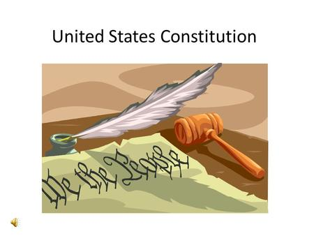 United States Constitution General Layout Article I Legislative Branch Article II Executive Branch Article IIIJudicial BranchArticle IV Relationship.