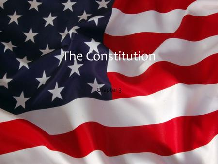 The Constitution Chapter 3.  Outline of Constitution  Framework and procedures  Limits and conduct  Preamble- short introduction  Articles- Sections.
