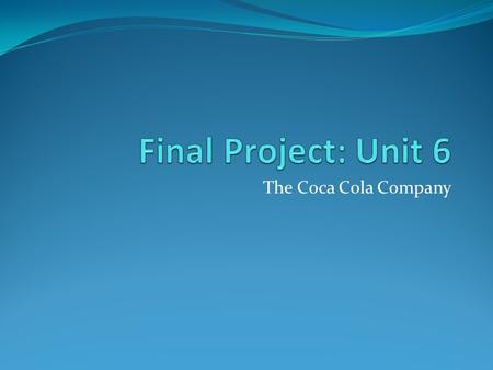 strategic business plan for coca cola company