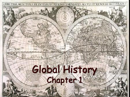 Global History Chapter 1. HUMAN ORIGINS Where did people come from?