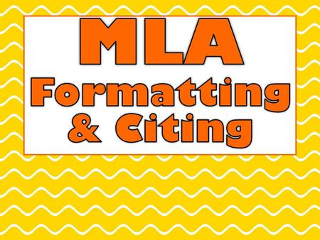 MLA Format MLA (Modern Language Association) Most commonly used to write papers and cite sources for liberal arts and humanities.