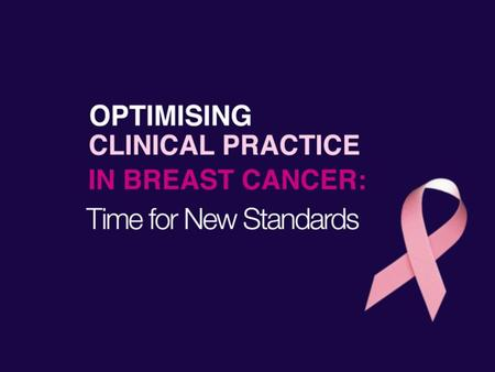 Treatment, Survivorship and the Breast Cancer Patient - ppt