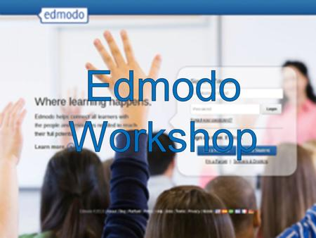  Edmodo is a social networking platform for teachers, students, and parents.  It allows communication and collaboration online in a safe environment.