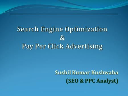 Search Engine Optimization & Pay Per Click Advertising