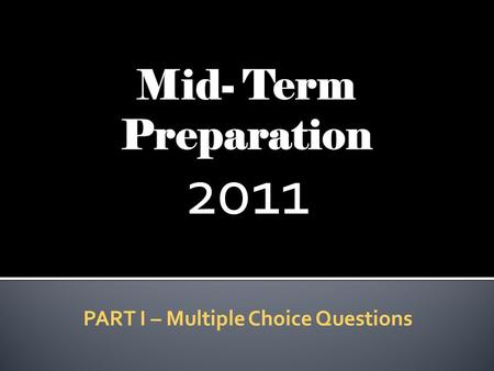 "2011 PART I – Multiple Choice Questions. FOR TEACHER WEB REVIEW Literary Devices – ""Term Paper"" Section Poetic Devices – ""Poetry"" Section Literary Terms."