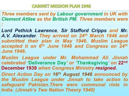Pakistan Movement Ppt Video Online Download