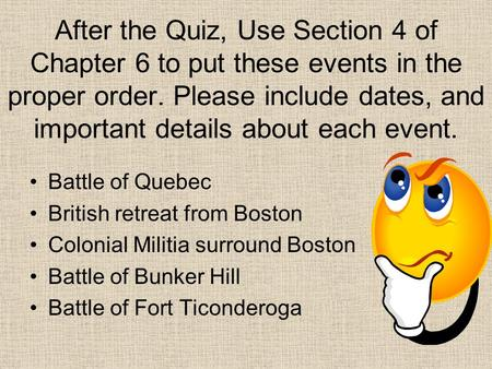 Objective For The Student To Analyze The Assault Of The Battle Of