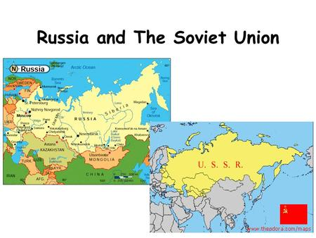 Russia and The Soviet Union. World War I In 1914, WWI broke out in Europe. Russia wasn't prepared for war and suffered many defeats. In 1917, Russia backed.