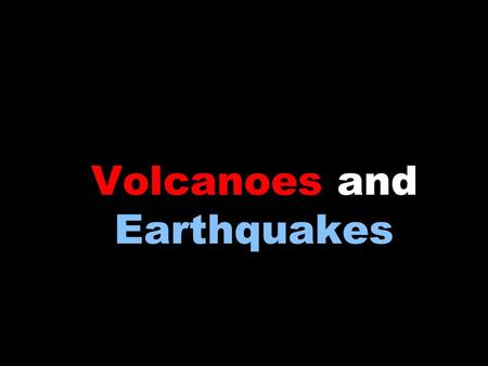 Volcanoes and Earthquakes Topic: Earthquake Magnitude Objectives: Day 1 <strong>of</strong> 4Objectives: Day 1 <strong>of</strong> 4 –I will review the definition <strong>of</strong> an earthquake –I.
