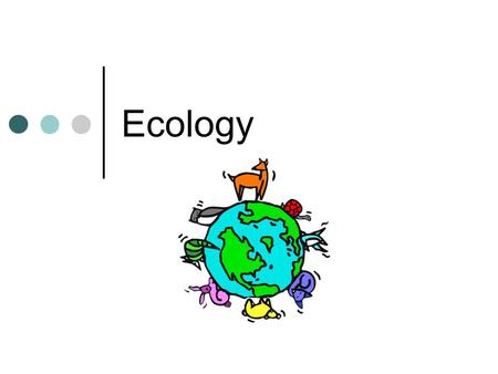Ecology. The Biosphere Earth that supports living things, includes air, land, and water Nonliving environment: Abiotic factors Air currents Temperature.