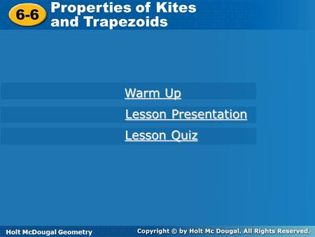 objectives use properties of kites to solve problems ppt download