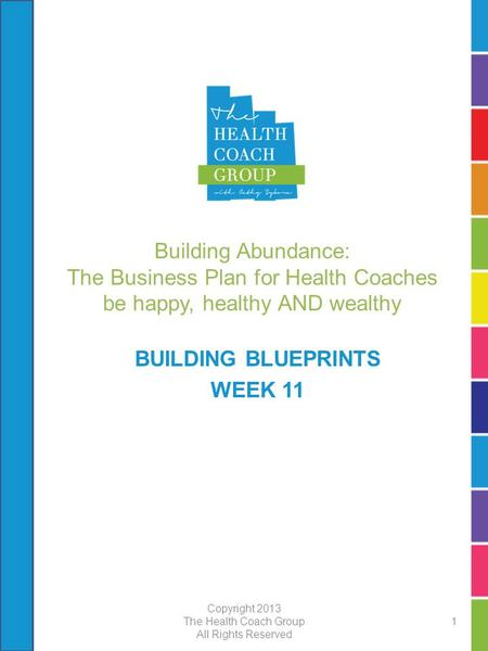 building abundance the business plan for health coaches be happy healthy and wealthy building