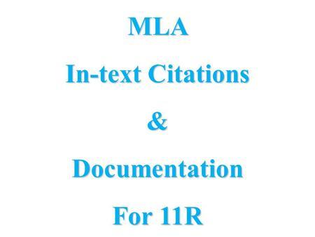 mla 7 title page