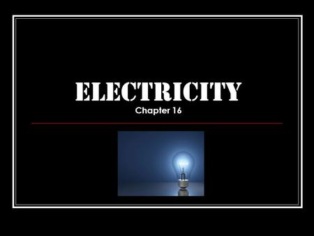 ELECTRICITY Chapter 16. Lesson One Vocabulary Electricity- a form of energy produced by moving electrons Electromagnet- a magnet made by coiling a wire.