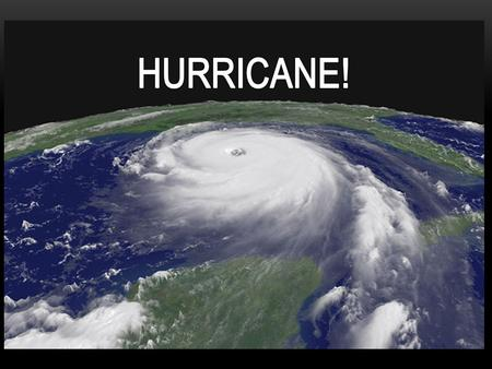  Hurricanes are areas of low air pressure that form over oceans in tropical climate regions.  Hurricanes hit land with tremendous force, bringing.