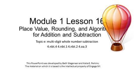 Topic c: rounding multi-digit whole numbers 4.nbt.3 - ppt video ...