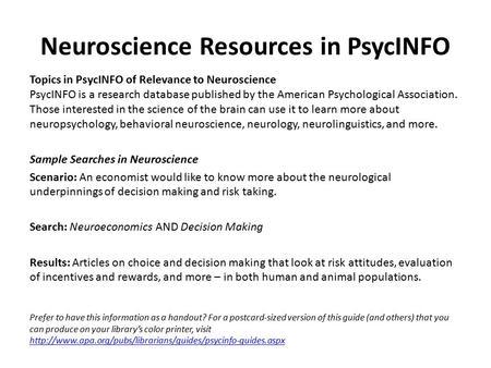 Cognitive Neuroscience - ppt video online download