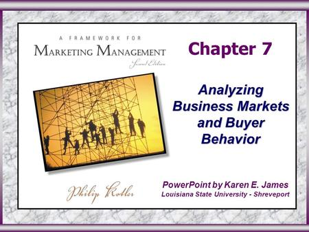 Chapter 7 Analyzing Consumer Markets And Buyer Behavior By Ppt