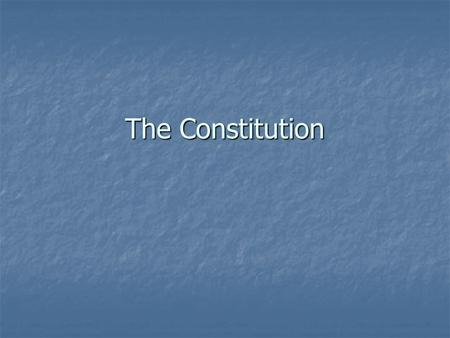 The Constitution. Article I: Legislative Branch Outlines the powers of the legislative branch Outlines the powers of the legislative branch Establishes.