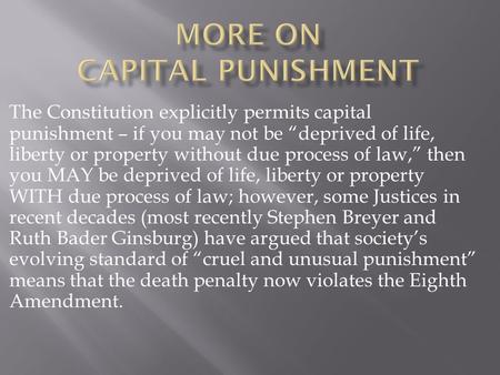 death penalty essay conclusion