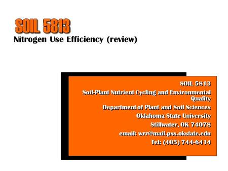 nitrogen use efficiency review soil 5813 soil plant nutrient cycling and environmental quality