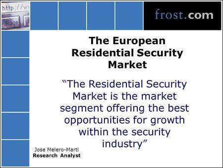 The European Residential Security Market
