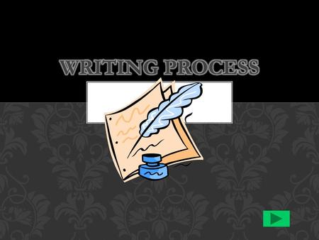 { NO !} THE WRITING PROCESS – IS IT LINEAR? THE WRITING PROCESS IS A PROCESS.