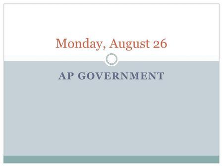 unicameral definition ap gov