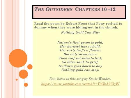 nothing gold can stay by robert frost pdf