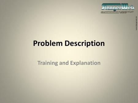 training and discussion