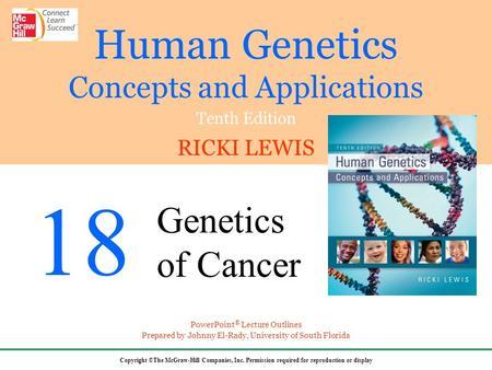 Familial cancer syndrome slideshare - Cancer genetic ppt