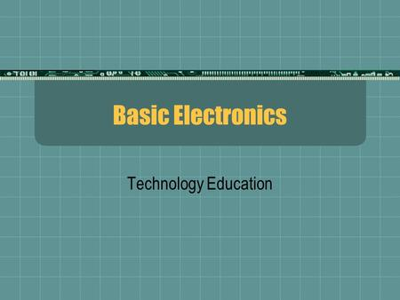 electronic education