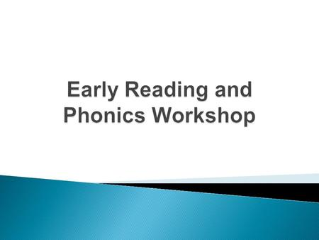 'Phonics refers to a method for teaching speakers of English to read and write their language' The National Literacy Trust.