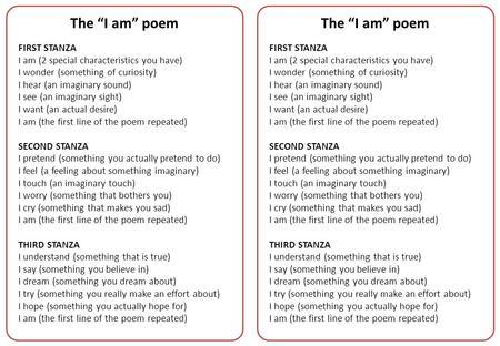 Poetry I Am Poem Poetry A Kind Of Rhythmic Compressed Language