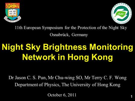 night sky brightness photometer - ppt download