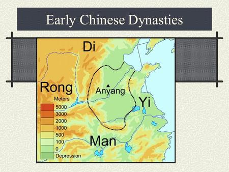 Early Chinese Dynasties. Shang Dynasty 1766-1122 B. C. First dynasty with written records Oracle bones- shells and bones that contained writing Major.