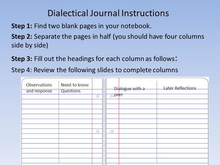 brave new world dialectical journals