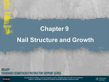chapter 9 properties of the hair and scalp