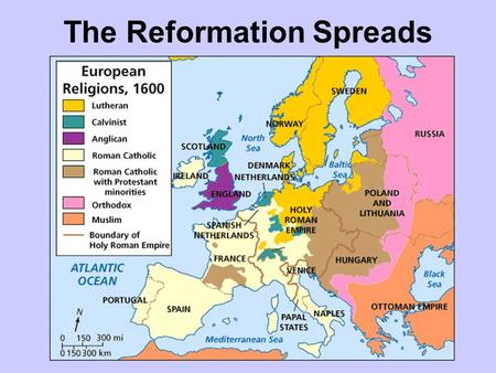 The Reformation Religious Map Of Europe C 1600 Answer Key.European Renaissance And Reformation 1300 Ppt Video Online Download