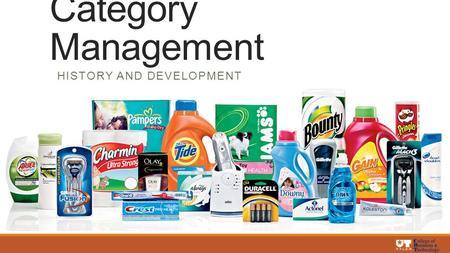 Ppt category management process standardization powerpoint.