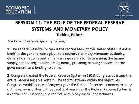 policy-making in the federal system essay The 12 regional federal reserve banks and the board of governors of the federal reserve system are responsible for the conduct of monetary policy in this country in addition, many services are provided by the fed to both the financial community and to businesses.