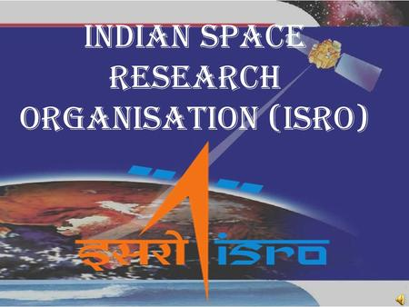 Indian Space Programme - ppt download