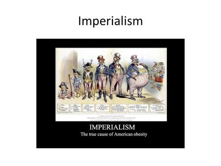 Imperialism. After the Industrial Revolution, Europeans began looking for new lands to explore and colonize, this led to imperialism. – IMPERIALISM: domination.