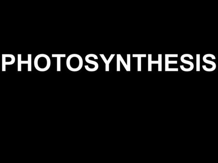 PHOTOSYNTHESIS AUTOTROPHS Organisms that use energy from the sun or energy stored in chemical compounds to make their own nutrients Processes: 1. Chemosynthesis.