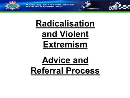 Extremism and radicalisation prevent information for school staff staffordshire police corporate powerpoint template by carl uttley 9545 slide 1 restricted radicalisation and violent extremism toneelgroepblik Gallery