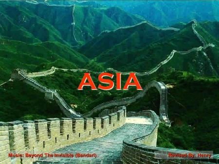 ASIA Revised By: HenryMusic: Beyond The lnvisible (Bandari)