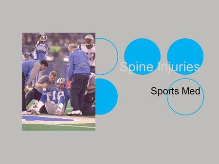 Spine Injuries Sports Med.